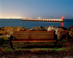 Bench and Breakwater