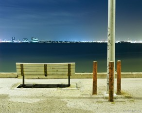 Bench and Poles